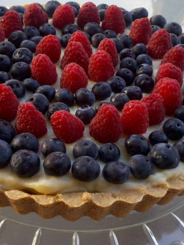 Gluten-Free Berry Custard Tart Recipe — Dishmaps